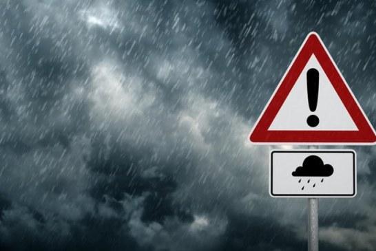 ΕΚΤΑΚΤΟ – Η ΕΜΥ Προειδοποιεί: Έρχονται Καταιγίδες, Χαλάζι και ισχυροί Άνεμοι