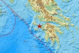 ΕΚΤΑΚΤΟ: Σεισμός τώρα στην Πελοπόννησο