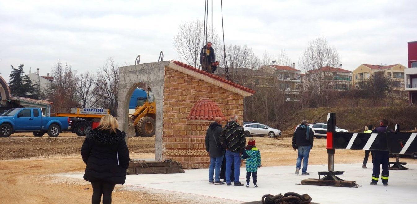 Η πρώτη εκκλησία για τον Άγιο Παΐσιο - Σε ποια περιοχή χτίζεται