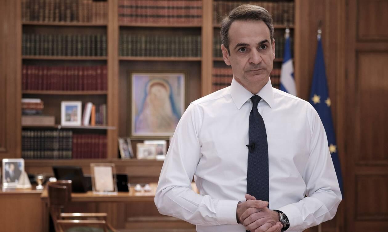 Διάγγελμα από τον πρωθυπουργό Κυριάκο Μητσοτάκη για τον κορονοϊό