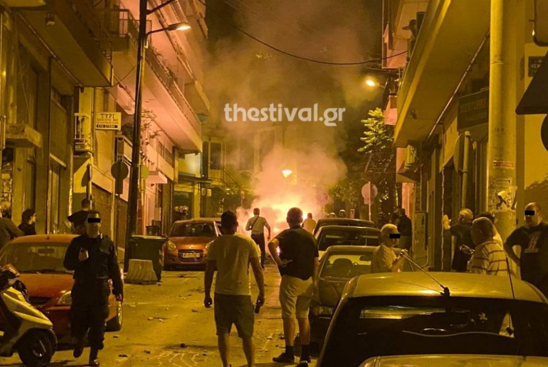 Εκτακτο: Επεισόδια και μολότοφ κοντά στο τουρκικό προξενείο στη Θεσσαλονίκη