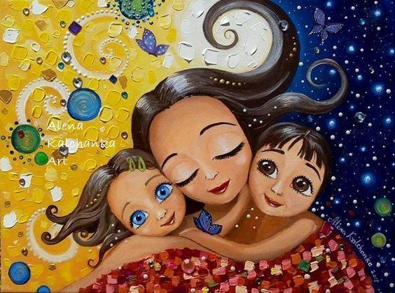 «Η Αγάπη Της Μάνας Δεν Μοιράζεται, Πολλαπλασιάζεται»