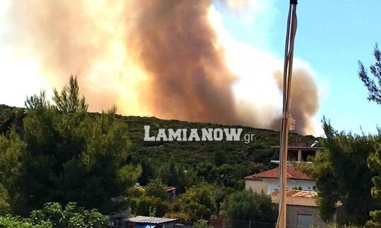 Συμβαίνει Τώρα - Μεγάλη πυρκαγιά στο Μαρτίνο