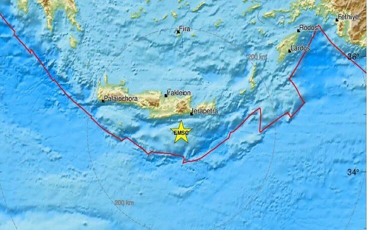ΤΩΡΑ - Ισχυρός σεισμός στην Κρήτη
