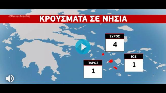 Κορονοϊός Ελλάδα: Συναγερμός για τα ασυμπτωματικά κρούσματα (χάρτης)