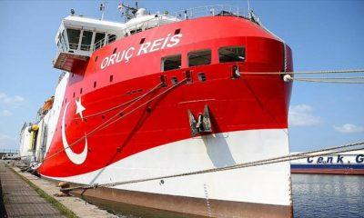 To Oruc Reis ξεκίνησε σεισμικές έρευνες στην ανατολική Μεσόγειο