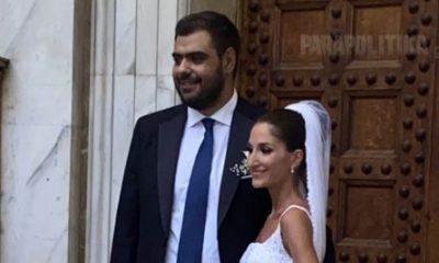 Παντρεύτηκε ο πρόεδρος της ΟΝΝΕΔ – Παρών ο Κυριάκος Μητσοτάκης
