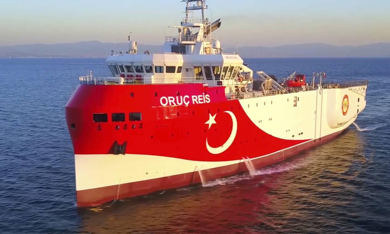 Συμβαίνει Τώρα - Το Oruc Reis επιστρέφει στην ελληνική υφαλοκρηπίδα