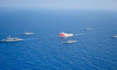 Νέα «ανάφλεξη»: 40 ελληνικά πλοία σε απόσταση βολής απ' το Oruc Reis