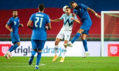 Σλοβενία – Ελλάδα 0-0 - Μία απο τα ίδια..