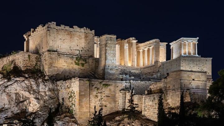 Αυτός είναι ο νέος φωτισμός της Ακρόπολης - ΦΩΤΟ - ΒΙΝΤΕΟ