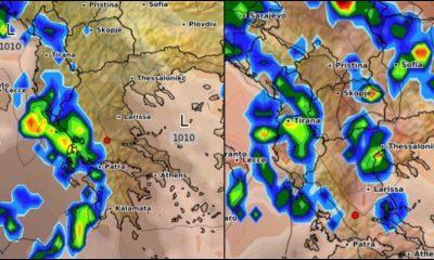 Έκτακτο δελτίο καιρού: Ισχυρές βροχές και καταιγίδες – Πού αναμένεται να πέσει και χαλάζι