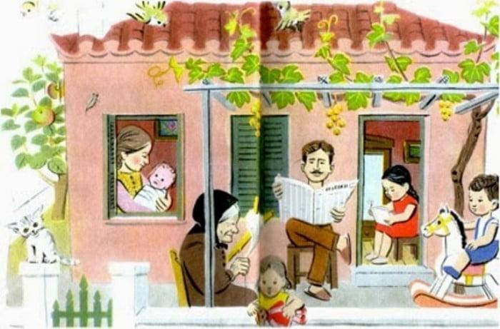 Ποιος είναι ο καλλιτέχνης που ζωγράφιζε τα αλφαβητάρια της παιδικής μας ηλικίας; Όμορφες εικόνες μιας άλλης εποχής