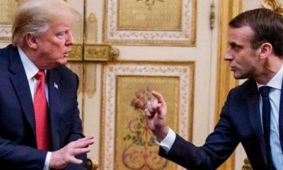 Μακρόν σε Τραμπ: «Μάζεψε τον Ερντογάν αλλιώς όλοι θα ψάχνουν να βρουν που πέφτει η Τουρκία»