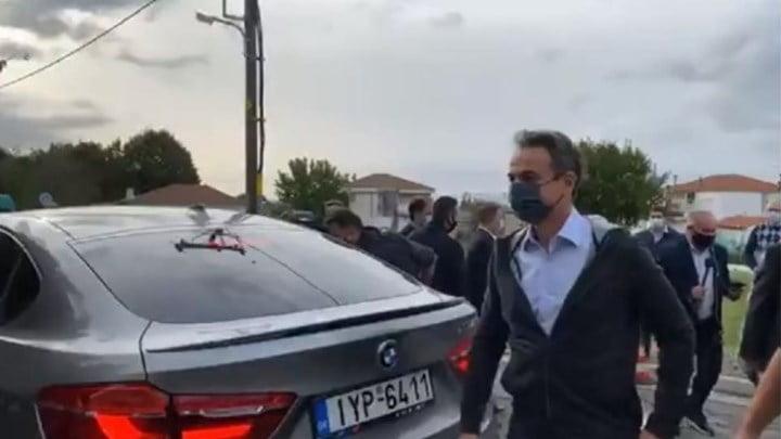 Μητσοτάκης: Νέα φωτογραφία του πρωθυπουργικού ζεύγους με τον γιο τους στον Έβρο