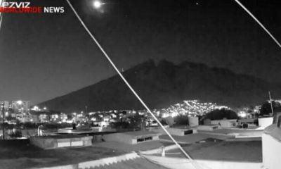 Μετεωρίτης έκανε τη νύχτα μέρα στο Μεξικό – Πολίτες κατέγραψαν εντυπωσιακά βίντεο