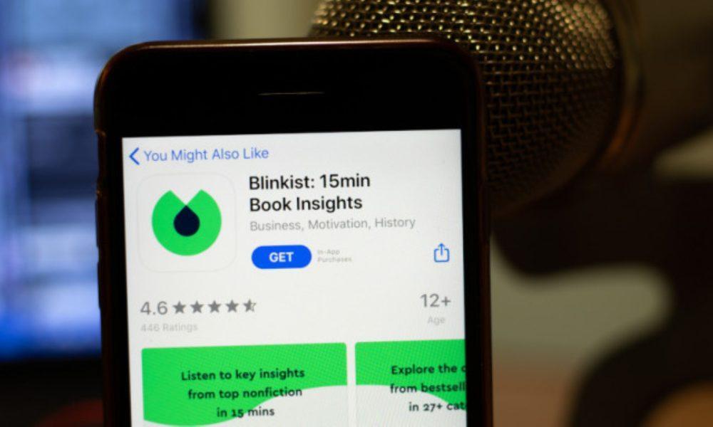 Blinkist: Μια εφαρμογή που «σαρώνει» και χρησιμοποιούν όλοι οι διανοούμενοι