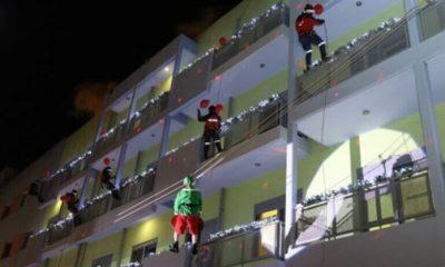 Πυροσβέστες Άι Βασίληδες σκόρπισαν χαμόγελα στα παιδιά της Ελπίδας