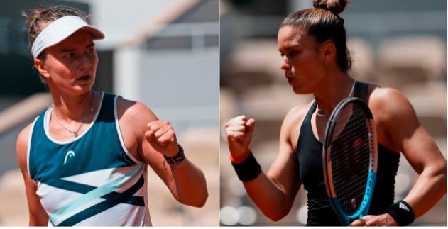 Ημιτελικός Roland Garros: Κρεϊτσίκοβα - Σάκκαρη (LIVE)