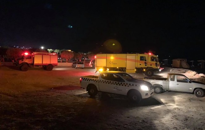 EKTAKTO-Πτώση αεροσκάφους στη Σάμο – Πρώτες εικόνες από την περιοχή